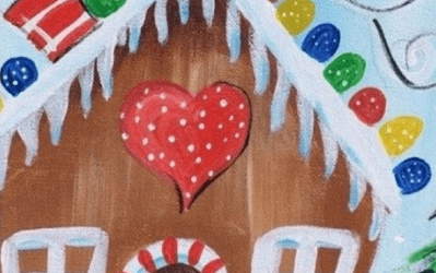 Gingerbread House Paint Night 12-13
